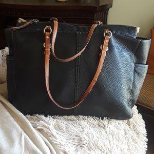 Coam Large Leather Bag